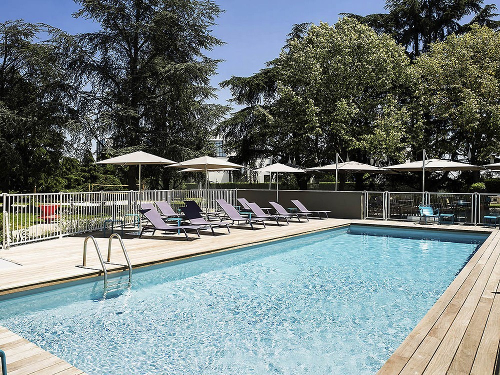 Novotel Toulouse airport purpan - pool