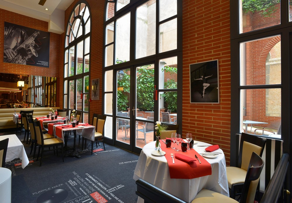 Crowne plaza toulouse - restaurante