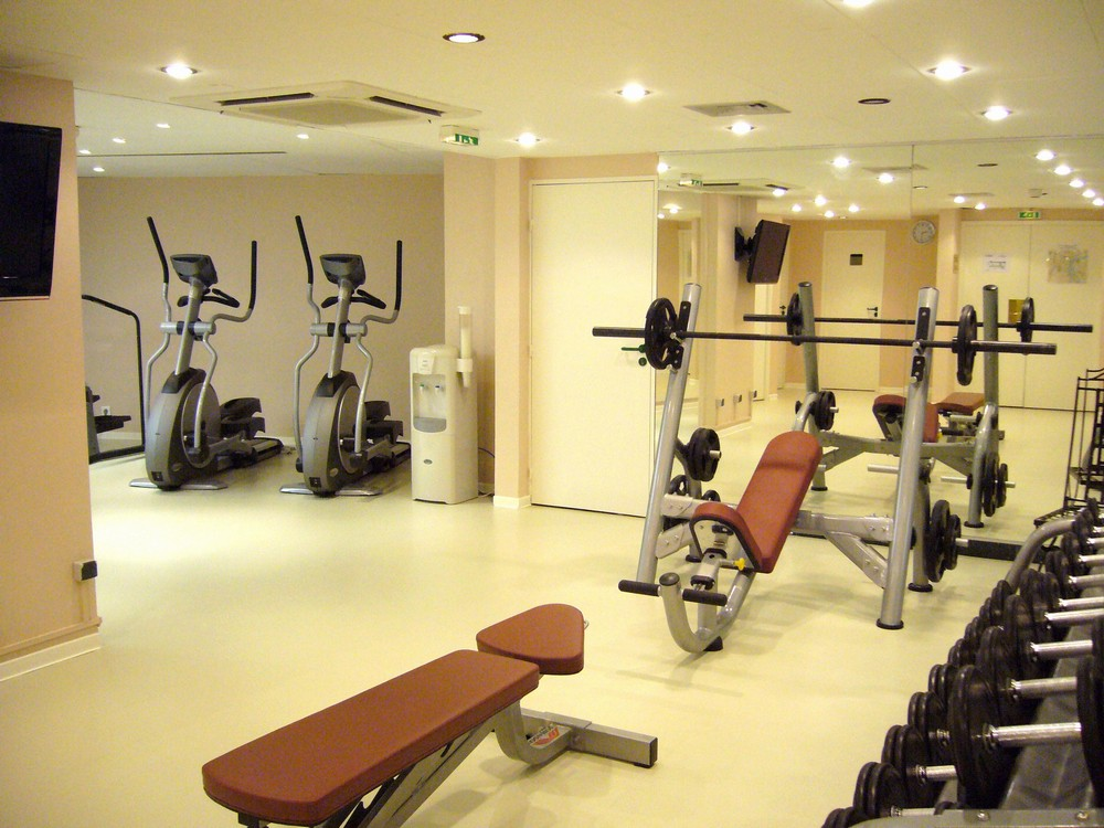Crowne plaza toulouse - fitness center