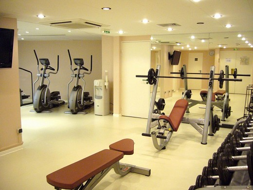 Crowne plaza toulouse - centro fitness