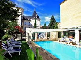 Il Grand Hotel a Sarlat - piscina