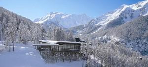 Konferenz-Raum und Kultur im Winter