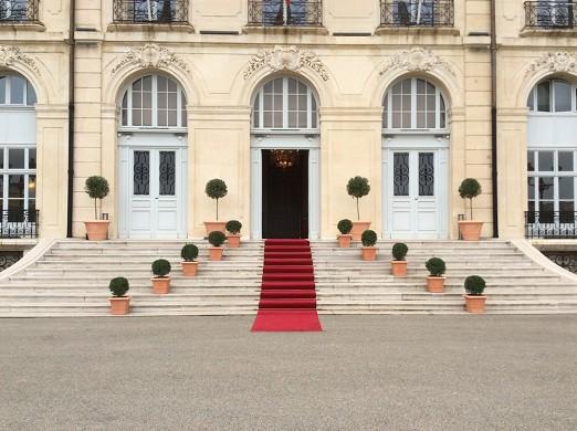 Palacio de Pharo - entrada