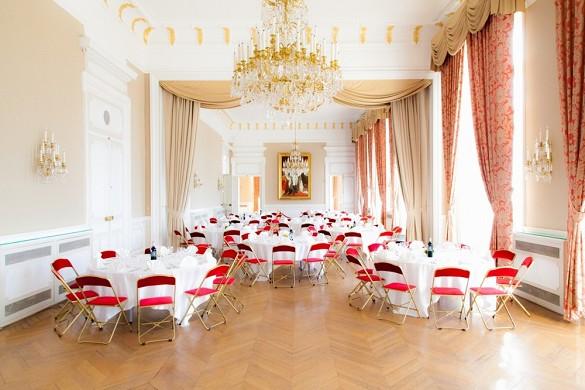 Palacio de Pharo - salón de recepción