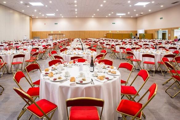 Chanot de Marsella - centro de convenciones y exposiciones - sala de recepción