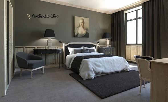 Maisons du monde hotel and suites marseille - dormitorio