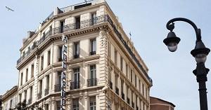 Newhotel alte Hafen Marseille Fassade