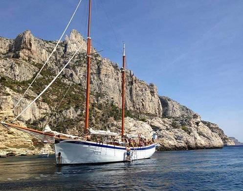 Alianza goelette - barco para profesionales