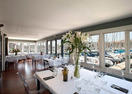 La nautique - sala ristorante
