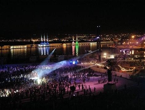 Dock des suds - de noche