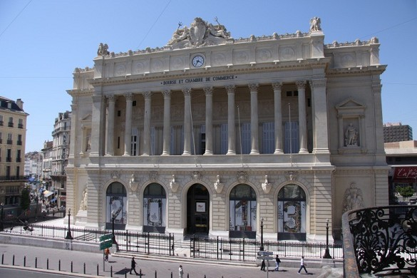 Stock Exchange Palace - facade