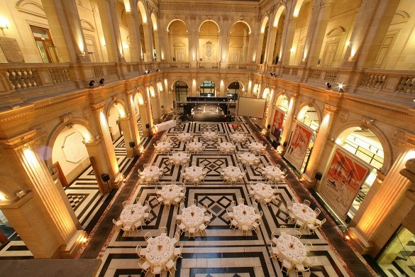 Stock Exchange Palace - reception
