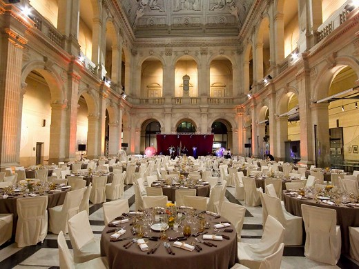 Stock Exchange Palace - business reception