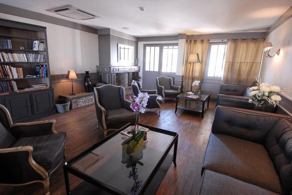 Hotel de la maree - wohnzimmer