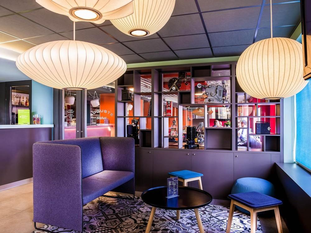 Ibis Styles Lyon Confluence - lounge