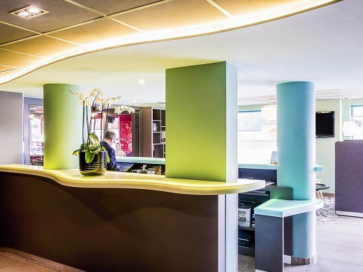 Ibis styles lyon confluence - réception