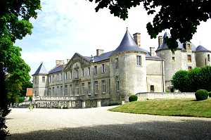 Castle Vic sur Aisne - instead of receiving aisne