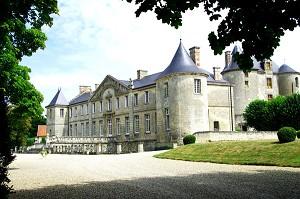 Castello di Vic sur Aisne - invece di ricevere Aisne