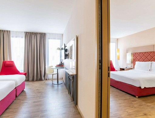Radisson blu toulouse airport - family room