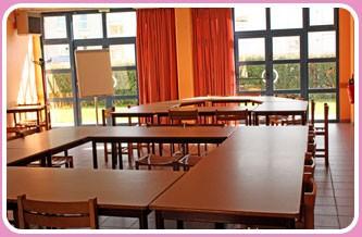 Centro Europeo de la estancia Calais sala de reuniones