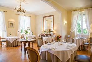 Restaurantraum - Schloss Bellevue - Cazaubon