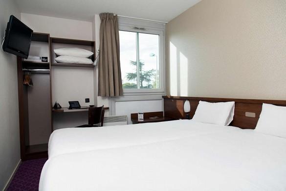 Brit hotel toulouse colomiers - the esplanade - habitación confort
