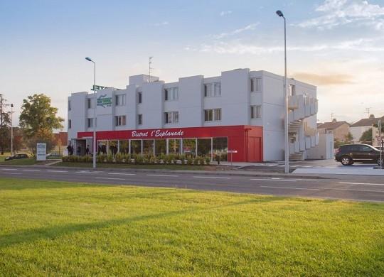 Brit hotel toulouse colomiers - la explanada - fachada del brit hotel toulouse colomiers - la explanada