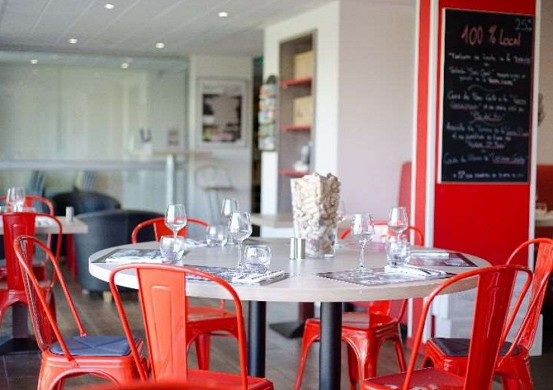 Brit hotel toulouse colomiers - l'esplanade - restaurante bistrot l'esplanade