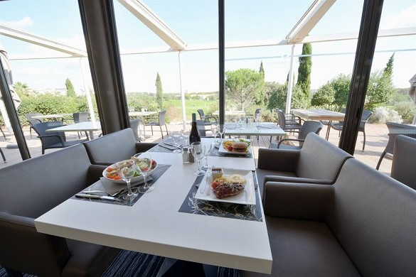 Quality hotel du golf montpellier-juvignac - restaurant le club house