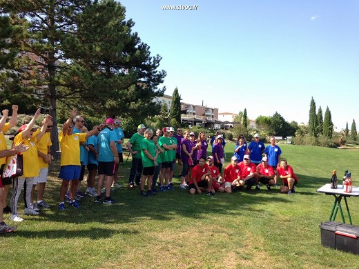 Quality hotel golf montpellier-juvignac - incentive activity awards on golf