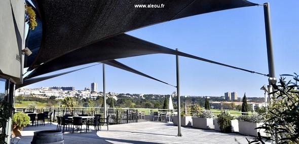 Qualitätshotel Golf Montpellier-Juvignac - Terrassenrestaurant La Garrigue