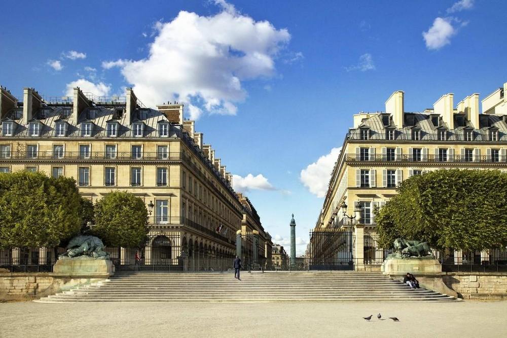 El Westin Paris - exterior del hotel
