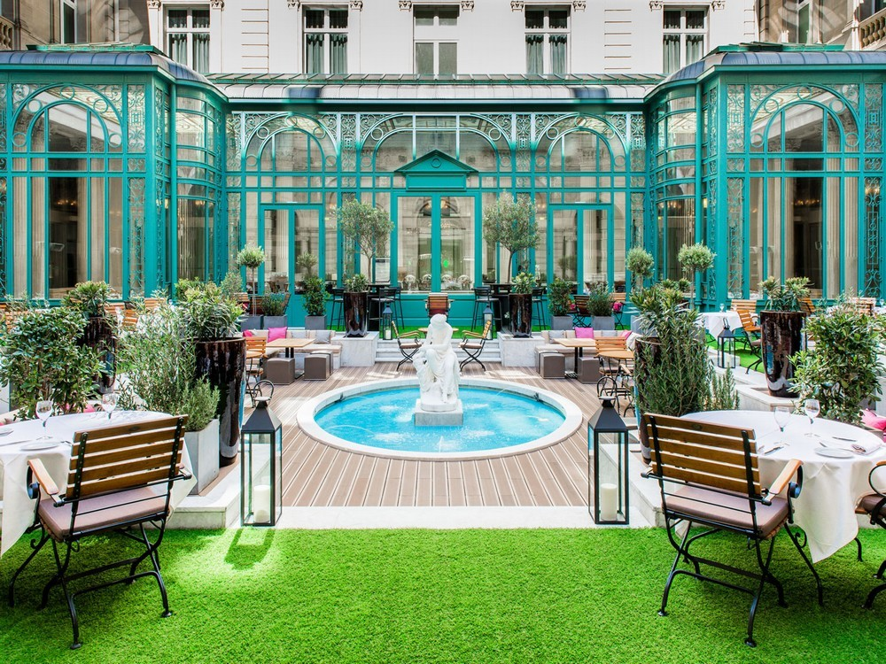El Westin Paris - Patio