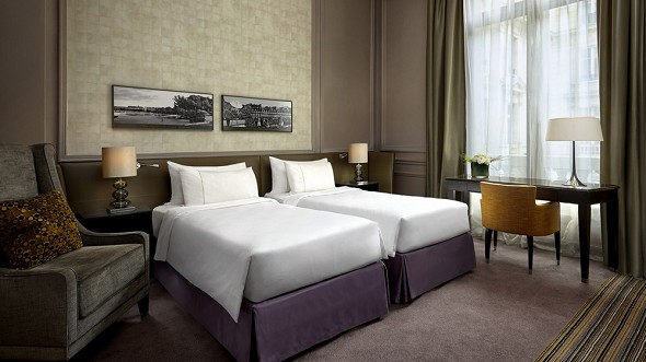 The westin paris - chambre twin