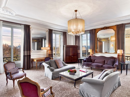 The westin paris - suite