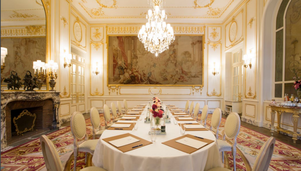 Ritz Paris - salón de la psique