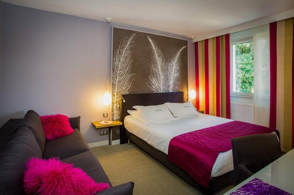 Hotel restaurante la chaumière - habitación rosa