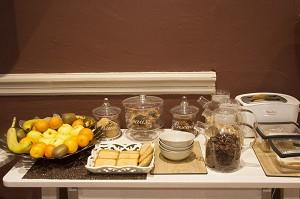 Frühstücksbuffet aus dem Brit Hotel Grand Hotel Roanne