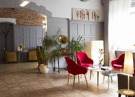 Gemeinschaftsraum des Brit Hotel Grand Hotel de Roanne