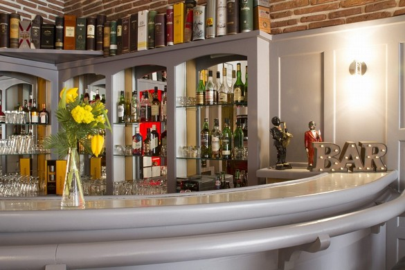 Brit Hotel Roanne - das Grand Hotel - Bar des Brit Hotel Grand Hotel de Roanne