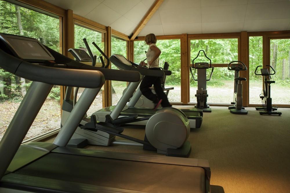 Novotel Fontainebleau Ury - sala fitness