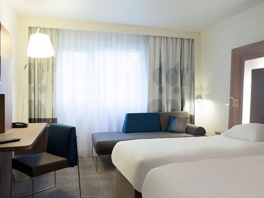 Novotel Fontainebleau Ury - habitación doble