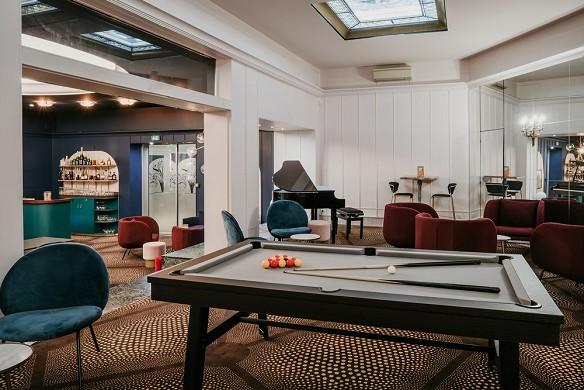The grand hotel de valenciennes - billar