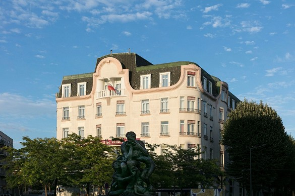 The grand hotel de valenciennes - exterior