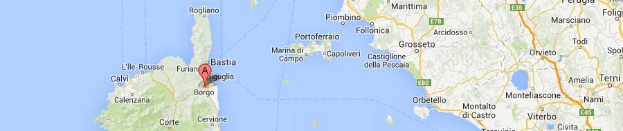 Karte borgo
