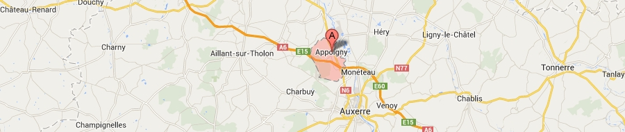 map-of-appoigny-Yonne