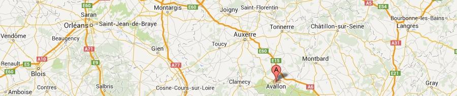 carte-de-avallon-to-seminar-in-the-Yonne-89