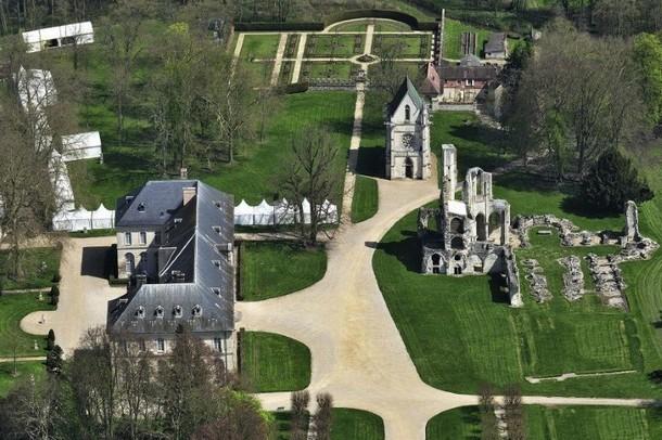 Kongresshalle Vermietung oder Seminar Abbey - Abtei von Chaalis (60)