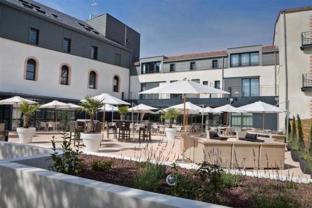 Vermietung Zimmer und Seminarorganisation Konferenz in Nantes - Best Western Villa Saint Antoine (44)