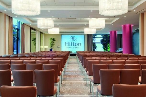 Organizzazione di seminari e congressi a Evian - Hilton Evian-les-Bains (74)